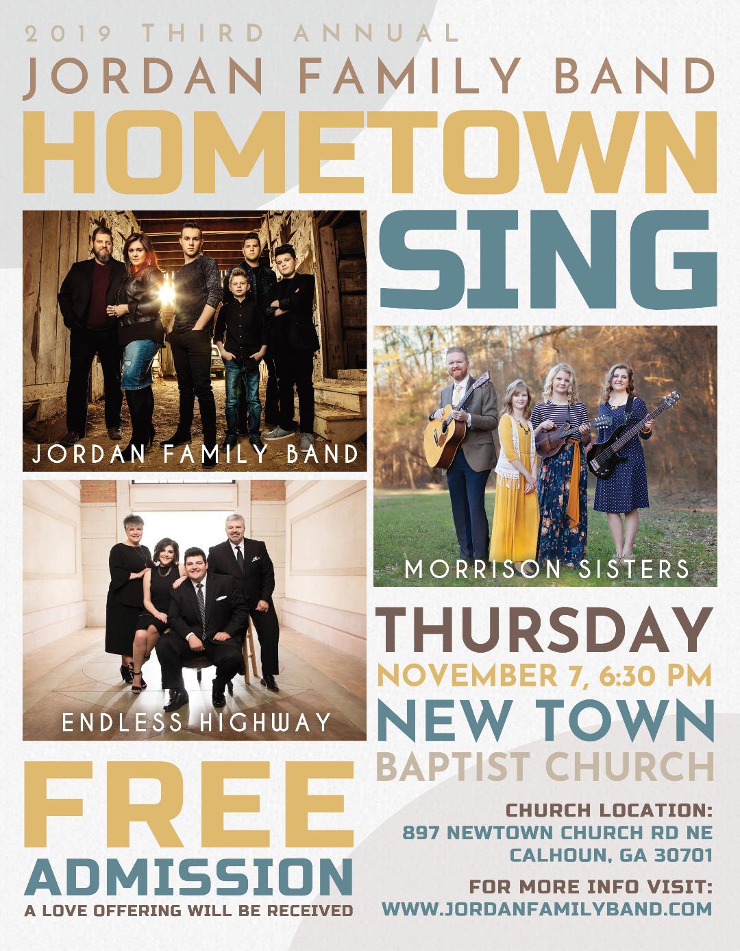 JFB Hometown Sing